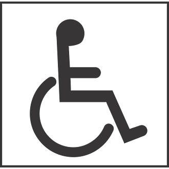 Disabled Logo Signage